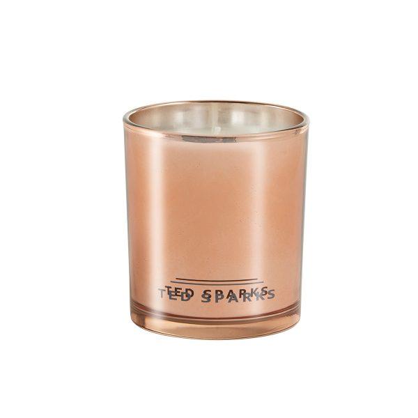 Geurkaars Ted Sparks Rosé Gold - Juul kadoshop